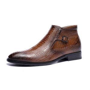 Crocodile Pattern Shoes