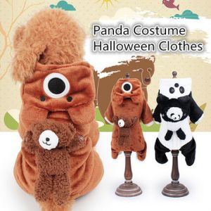 Dog Cat Pet Puppy Panda Costume With Sound Halloween Clothes Accessory Fancy Funny Xmas