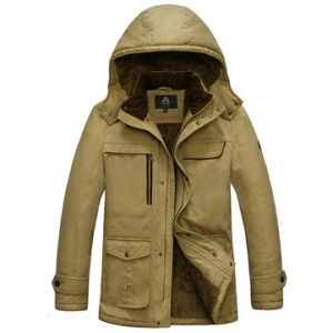 Hood Padded Jacket for Men