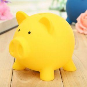 Girls Vinyl Cute Pig Crossbody Bag Women Pocket Money Shoulder Bag