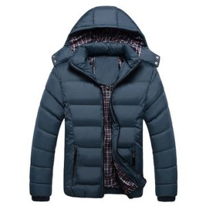 Detachable Hood Padded Jackets