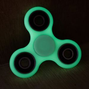 Luminous Green Hand Spinner Fingertip Fluorescence Gyroscope Children Adult Fidget Funny Focus Toy