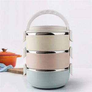 Portable Container Storage Bento Lunch Box Set Stainless Steel DIY Bento Box