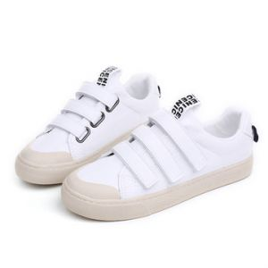 M.GENERAL Velcro Solid Color Soft Comfortable Casual Shoes For Women