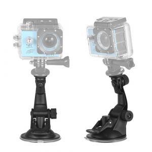 Accessoires pour caméra d'action Support voiture pour ventouse + adaptateur de trépied pour GoPro hero 7/6/5/4 SJCAM / YI
