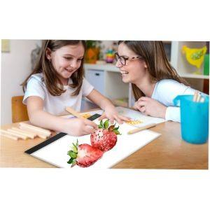 Tablette graphique LED A3 Tablette graphique Tablette lumineuse Tablette numérique