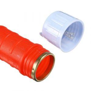 Pompe à siphon électrique Pompe de transfert d'eau de mazout à piles Transformatrice de liquide de transfert de fluide à essence électrique Accessoires de voiture / Rouge