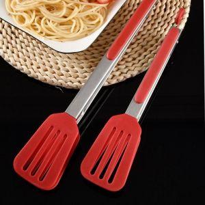 Pinces de cuisine pour la cuisson Pince alimentaire antiadhésive (13,58 pouces)
