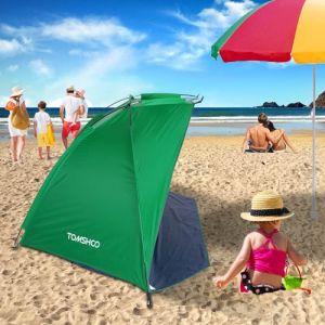 TOMSHOO Tente de parasol Sports de plein air pour la pêche Picnic Beach Park