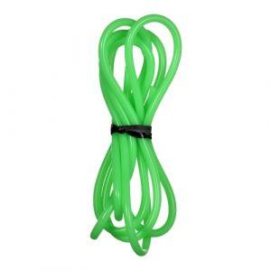 Tuyau en silicone vert Tube en caoutchouc de silicone de qualité alimentaire Tuyau d'eau flexible pour tuyau de raccordement de machines alimentaires de transfert de pompe, 1 mm ID x 3 mm OD 1 mètre