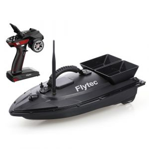 Flytec V500 Bateau à appâts de pêche RC Bateau RC Fish Finder 1.5kg Chargement 500M Télécommande Double moteur Veilleuse