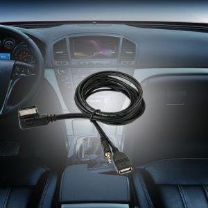 Interface de Musique AMI MMI USB Chargeur 3.5mm Mini Jack Aux MP3 Câble pour VW pour AUDI S5 Q5 Q7 A3 A4L A5 A1