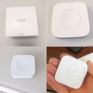 Xiaomi Aqara Wireless Mini Switch Zigbee System Remote Control Switch Utiliser avec Xiaomi Gateway Partenaire Aqara Air Condictioner