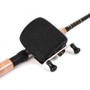Sac de moulinet de pêche Housse de protection Trolling Drum Reel Roue Housse de protection Sock Fishing Reel Pouch Sac de rangement