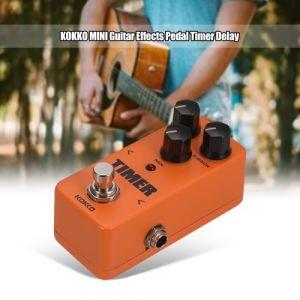 KOKKO FD2 MINI Pédale d'effet Minuteur Retard analogique numérique True Bypass Pédale d'effet guitare électrique