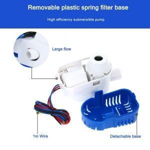 Pompe submersible automatique de pompe à eau de cale de bateau de 12V 1100GPH pompe de cale automatique de 12v 1100gph avec le commutateur de flotteur