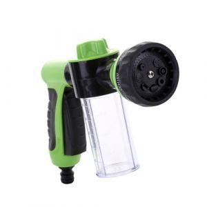 Pistolet de distribution de savon de buse de mousse de tuyau d'eau de jardin de pulvérisateur de mousse