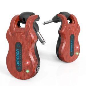 Système de guitare sans fil Ammoon 5.8GHz (émetteur + récepteur)