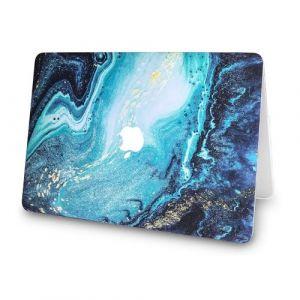 """Coque MacBook Air 13 / 13.3 ultra-fine recouverte d'un revêtement caoutchouté pour ordinateur portable, de protection pour Apple 13 """"/ 13,3"""", modèle de canal MacBook Air A1466 / A1369"""
