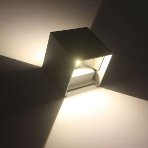 AC85-265V 12W LED Applique murale Aluminium Angle de faisceau Réglable Lumière Extérieure