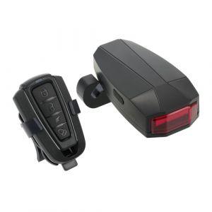Taillights Bike Intelligent Anti-Theft Bicycle Phare arrière Alarme LED vélo Strobe Avertissement électrique Bell USB Télécommande sans fil VTT Câble Accessoires