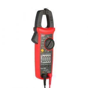 UNI-T UT204 + 6000 points Pince ampèremétrique numérique True RMS Multimètre Pince Ampèremètre Mètre de tension Test NCV Testeur de mètre universel Testeur de pince de courant AC / DC -40 ~ 1000 ? Mesure de température Test LIVE