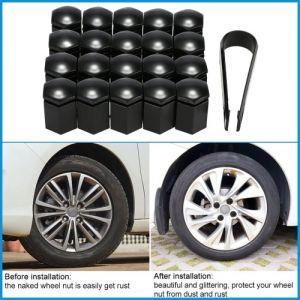 Ensemble de 20Pcs 17mm voiture roue écrou cache-boulons housses plastique pour Vauxhall