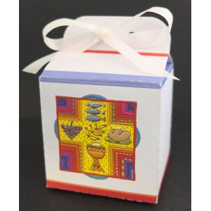 Boîte à dragées Croix - Vide