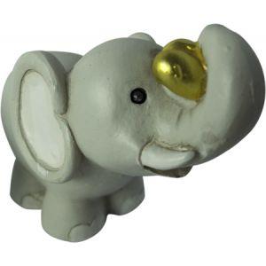 Sujet Elephant avec coeur Grand Modèle