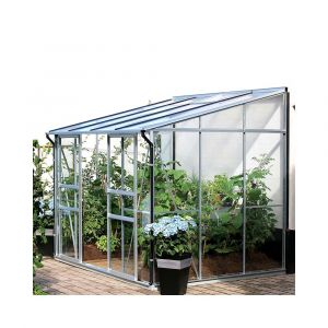 Serre adossée IDA en verre trempé 5.20 m² - Lams