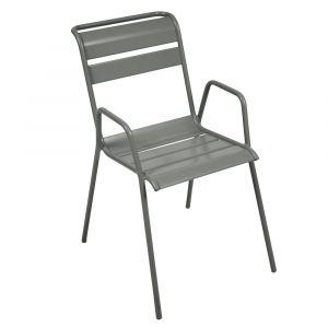 Chaise empilable Fermob Monceau acier romarin