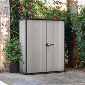 Armoire de jardin résine Keter 1 m² gris