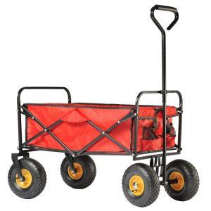 Chariot de jardin Circus Garden pliant 80 L - Haemmerlin