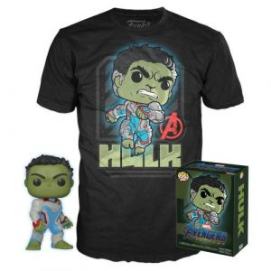 POP! & TEE Funko Box Marvel Figurine et T-shirt Hulk Taille XL