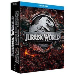 Coffret Jurassic Park L'intégrale 1 à 5 Blu-ray
