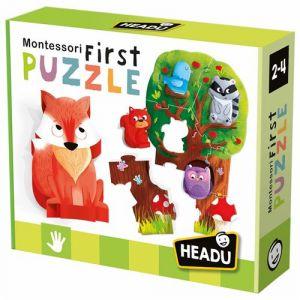 Jeu découverte Headu Mon Premier Puzzle Montessori La Forêt