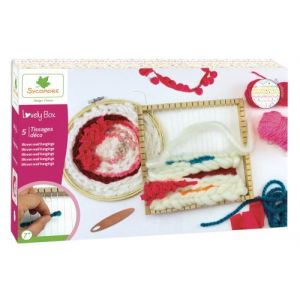 Kit créatif Au Sycomore Lovely Box XL 5 Tissages déco
