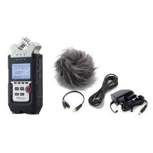 Enregistreur portable Zoom H4N Pro Noir + Kit Accessoires APH4NSP