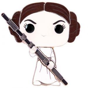 Funko Pop! Pin's Géant avec Stand 10 cm Star Wars Princess Leia