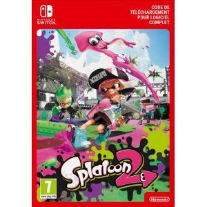 Code de téléchargement Splatoon 2 Nintendo Switch