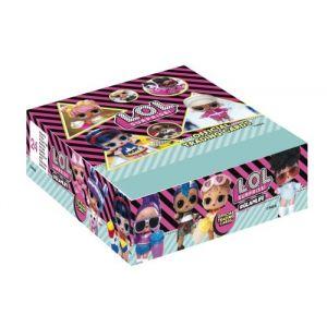 Jeu de cartes Panini Boîte de 24 Pochettes LOL Surprise Glam Life