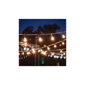 Guirlande LED d'extérieur GIRLANDA 17 m 15xE27/15W/230V IP44