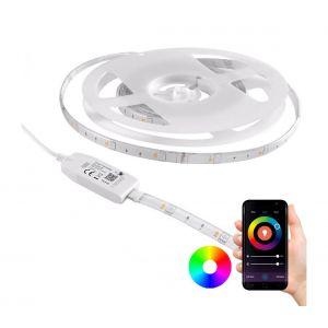 Ruban dimmable LED RGB d'extérieur Wi-fi LED/6,5W/IP65 2 m Tuya