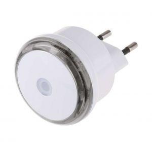Veilleuse LED à brancher avec détecteur crépusculaire 3xLED/0,5W/230V