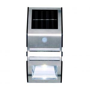 Grundig - Applique murale LED solaire avec détecteur 1xLED IP44