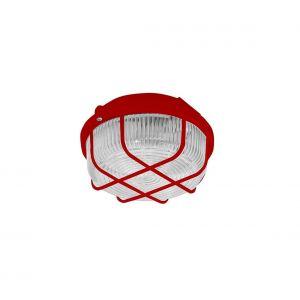 Plafonnier extérieur 1 × E27 / 100 W / 230 V Rouge IP44