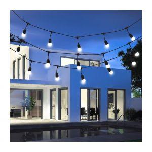 Guirlande décorative d'extérieur GIRLANDA 5,6m 10xE27/6W/230V IP44