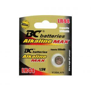 Pile bouton alcaline LR44 1,5V