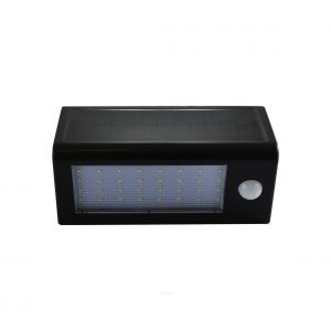 Applique murale LED solaire avec détecteur LED/5W IP44
