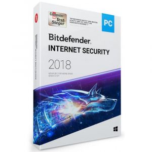 Bitdefender 2018 Internet Security (1 PC -1 Jahr) OEM